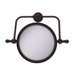 Allied Brass - Retro Wave Collection Wall Mounted Swivel Make-Up Mirror 8 Inch Diameter - Venetian Bronze