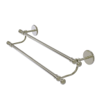 Allied Brass - Skyline Collection Double Towel Bar - Polished Nickel