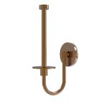 Allied Brass - Upright Toilet Tissue Holder - Brushed Bronze - 1024U