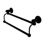 Allied Brass - Soho Collection Double Towel Bar - Matte Black