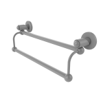 Allied Brass - Soho Collection Double Towel Bar - Matte Gray