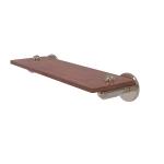 Allied Brass - Soho Collection Solid IPE Ironwood Shelf - Antique Pewter
