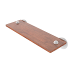 Allied Brass - Soho Collection Solid IPE Ironwood Shelf - Matte White