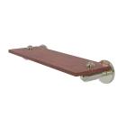 Allied Brass - Soho Collection Solid IPE Ironwood Shelf - Polished Nickel