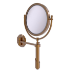 Allied Brass - Soho Collection Wall Mounted Make-Up Mirror 8 Inch Diameter - Brushed Bronze