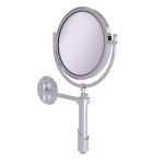 Allied Brass - Soho Collection Wall Mounted Make-Up Mirror 8 Inch Diameter - Polished Chrome