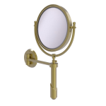 Allied Brass - Soho Collection Wall Mounted Make-Up Mirror 8 Inch Diameter - Satin Brass