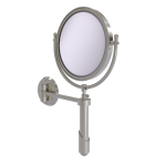 Allied Brass - Soho Collection Wall Mounted Make-Up Mirror 8 Inch Diameter - Satin Nickel