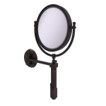 Allied Brass - Soho Collection Wall Mounted Make-Up Mirror 8 Inch Diameter - Venetian Bronze