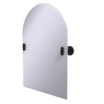 Allied Brass - Frameless Arched Top Tilt Mirror with Beveled Edge - Venetian Bronze - SB-94
