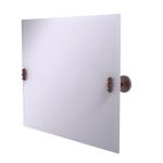 Allied Brass - Frameless Landscape Rectangular Tilt Mirror with Beveled Edge - Antique Copper - SB-93