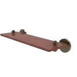 Allied Brass - South Beach Collection Solid IPE Ironwood Shelf - Antique Brass