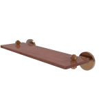 Allied Brass - South Beach Collection Solid IPE Ironwood Shelf - Brushed Bronze