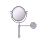 Allied Brass - Southbeach Collection Wall Mounted Make-Up Mirror 8 Inch Diameter - Satin Chrome