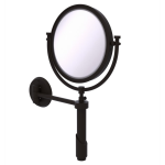 Allied Brass - Tribecca Collection Wall Mounted Make-Up Mirror 8 Inch Diameter - Oil Rubbed Bronze