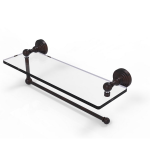 Allied Brass - Waverly Place Collection Paper Towel Holder with Glass Shelf - Venetian Bronze