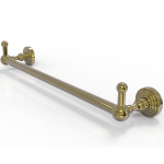 Allied Brass - Waverly Place Collection Towel Bar with Integrated Hooks - Unlacquered Brass - WP-41-PEG