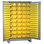 Lyon, LLC - All Welded Storage Cabinet 181 Bins 48″w x 21″d x 82″h