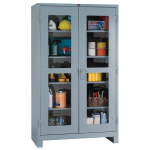Lyon, LLC - All Welded Storage Clearview Cabinet 48″w x 24″d x 82″h