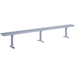 Lyon, LLC - 10 ft. Aluminum Locker Room Bench