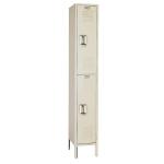 Lyon, LLC - Standard Steel Locker Double Tier 12″w x 15″d x 66″h - 1 Wide