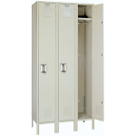 Lyon, LLC - Standard Steel Locker Single Tier 36″w x 12″d x 66″h - 3 Wide