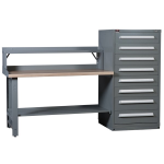Lyon, LLC - Modular Drawer Cabinet Hi-Lo Workbench Concept 8