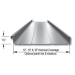 "Merchant & Evans, Inc. - 1-1/2"" ZIP-LOK Structural Standing Seam Metal Roof and Wall Panel System"