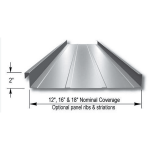 "Merchant & Evans, Inc. - 2"" ZIP-LOK Structural Standing Seam Metal Roof and Wall Panel System"
