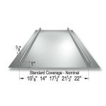 Merchant & Evans, Inc. - Traditional Rib 306 Metal Roof and Wall Panel System