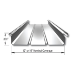 Merchant & Evans, Inc. - ZIP-RIB Structural Standing Seam Metal Roof and Wall Panel System