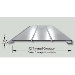 Merchant & Evans, Inc. - Super Flush-Lock Series 311 Concealed Clip Metal Soffit & Wall Panel System