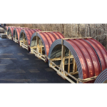 Merchant & Evans, Inc. - Curved Panels:Factory & Jobsite