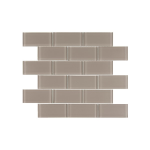 "South Cypress Floors - Manhattan Glass 2"" x 4"" - Almond Subway Tile"
