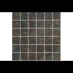 "South Cypress Floors - Basalt 2"" x 2"" - Cinder Grid Mosaic"