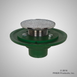 Prier - Drainage Products - B-110 - Cast Iron with Bolt Down Ring