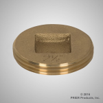 Prier - Drainage Products - C-200 - Brass Cleanout Plug