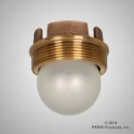 Prier - Drainage Products - C-342 - Brass Backwater Valve