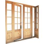 Arcadia Custom - Swing Operable Sidelights Wood Doors