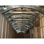 Fast Arch - Prefabricated Metal Arch Forms - Barrel Ceiling