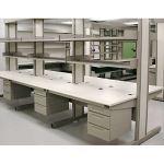 Kewaunee Scientific Corporation - Column-Based Workstations - Wide Column Evolution