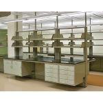 Kewaunee Scientific Corporation - Alpha Island Modules - Six Inch Partitions