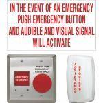 Camden Door Controls - CX-WEC Series Emergency Call For Universal Restrooms