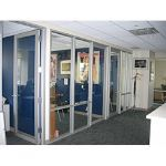 Wilson Partitions® - Medium Stile Aluminum Doors