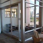 Wilson Partitions® - Narrow Stile Aluminum Doors
