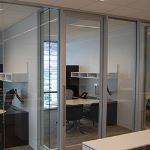 Wilson Partitions® - 375 Flush Sliding Door