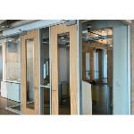 Wilson Partitions® - Aluminum Doors