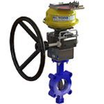 BI-TORQ Valve Automation - Fire Safe Butterfly Valves with Automatic Thermal Shut-off Device