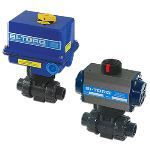 BI-TORQ Valve Automation - IC-3PS (PVC) Electric Actuator Ball Valves