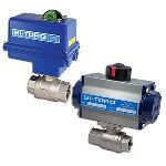 BI-TORQ Valve Automation - IS-2P (2-Piece SS) Electric Actuator Ball Valves